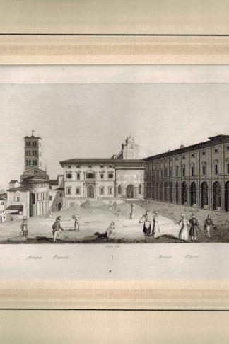Arezzo, Piazza