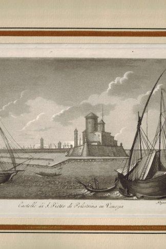 Castello di S.Pietro di Pelestrina in Venezia