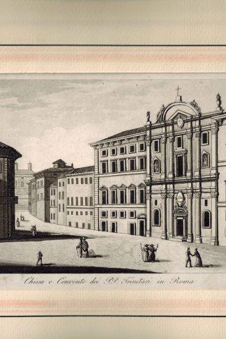 Chiesa e Convento dei PP. Trinitari in Roma