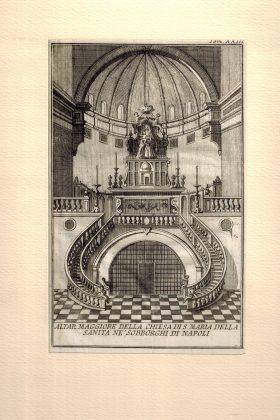 Altar Maggiore della Chiesa di S. Maria della Sanità ne' sobborghi di Napoli