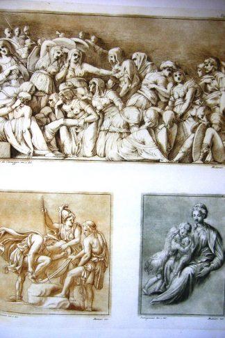 Disegni originali d'eccellenti pittori esistenti nella Real Galleria di Firenze incisi ed imitati nella loro grandezza e colori...