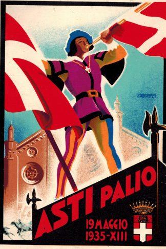 Asti Palio. 19 maggio 1935-XIII
