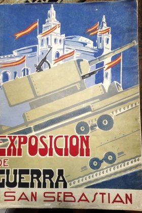 Exposicion de material de guerra tomado al enemigo