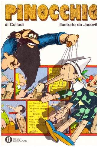 Pinocchio illustrato da Jacovitti