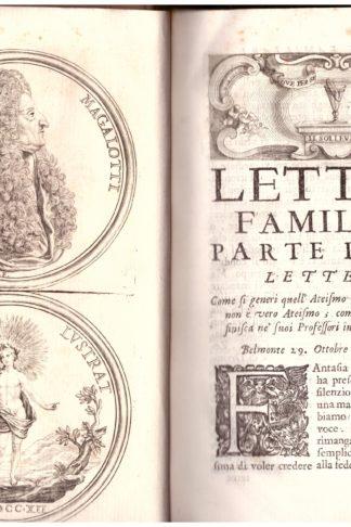 Lettere familiari del Conte L. M. Gentiluomo Fiorentino e Accademico della Crusca divise in due parti