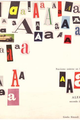 Alfabetiere. Facciamo assieme un libro da leggere