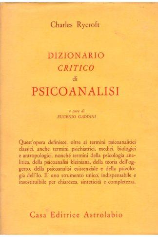 Dizionario critico di psicoanalisi