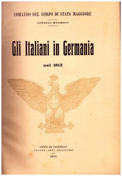 Gli Italiani in Germania nel 1813