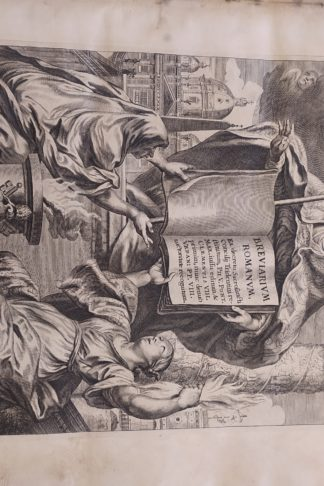 Breviarium Romanum ex decreto Sacrosancti Concilij Tridentini restitutum Pii V. Pomt. Max. iussu editum & Clementis VIII primùm, nunc denùo Urbani PP. VIII auctoritate recognitum